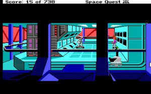 Space Quest 3 Junk Freighter
