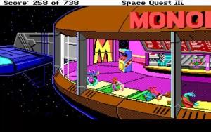 Space Quest 3 Monolith Burgers