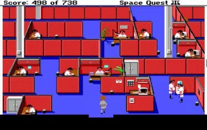 Space Quest 3 Scumsoft Office