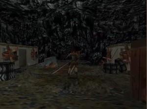 Tomb Raider 1 Level 13 Abandoned Buildings