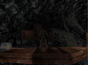 Tomb Raider 1 Level 13 Boat