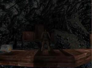 Tomb Raider 1 Level 13 Boat