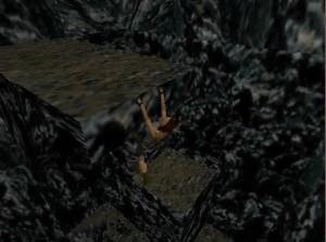 Tomb Raider 1 Level 13 Rock Ledge