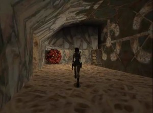 Tomb Raider 1 Level 14 Boulder and Block Room