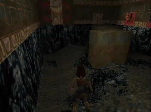 Tomb Raider 1 Level 14 Large Room With Switch