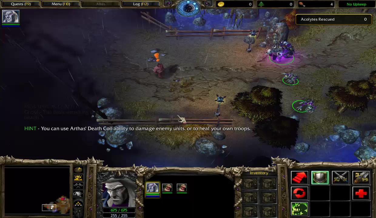 Warcraft 3 Reign Of Chaos Undead Chapter 1 Arthas