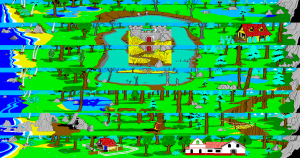 King's Quest 2 Map
