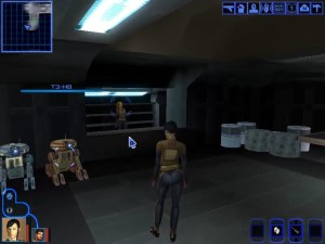 Knights of the Old Republic Taris - Droid Shop