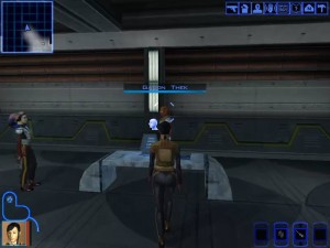 Knights of the Old Republic Taris - Gadon Thek