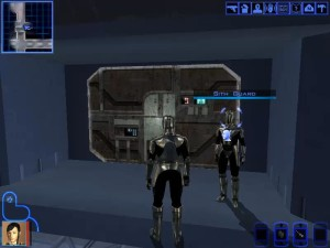 Knights of the Old Republic Taris - Lower City Elevator