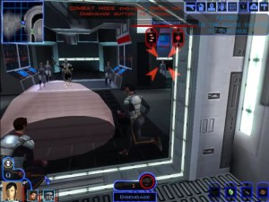 Knights of the Old Republic Taris - Sith Base Control Room
