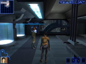 Knights of the Old Republic Taris - Zelka