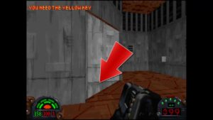 Dark Forces Mission 10 Yellow Key