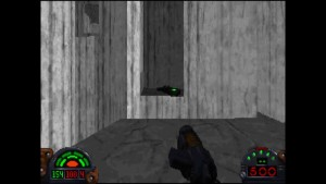 Dark Forces Mission 4 Path to Secret Entrance