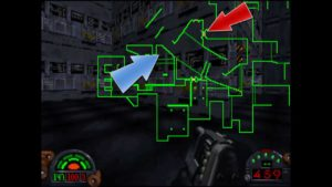 Dark Forces Mission 9 Map