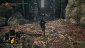 Dark Souls 3 Crucifixion Woods Building