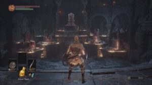 Dark Souls 3 Firelink Shrine Thrones