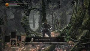 Dark Souls 3 Road of Sacrifices Twin Dragon Greatshield