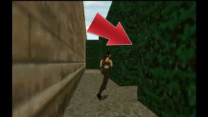 Tomb Raider 2 Hedge Maze