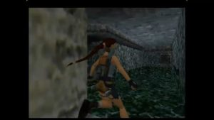 Tomb Raider Level 1 Blade Pool Room