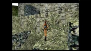 Tomb Raider Level 1 Window to Great Wall