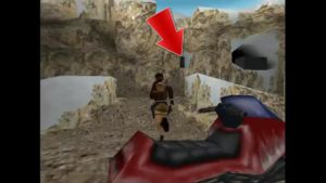 Tomb Raider 2 Level 11 Ramp Area