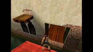 Tomb Raider 2 Level 2 House Entrance