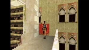 Tomb Raider 2 Level 2 Red Awning