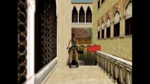 Tomb Raider 2 Level 2 Wooden Ledge