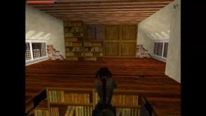 Tomb Raider 2 Level 3 Bookshelf