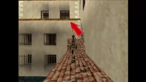 Tomb Raider 2 Level 3 Brick Wall