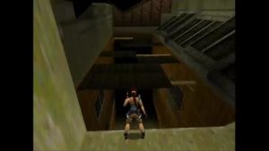 Tomb Raider 2 Level 4 Broken Roof