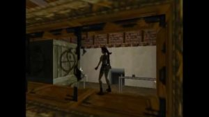 Tomb Raider 2 Level 4 Dressing Room Crate