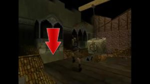 Tomb Raider 2 Level 4 Roof Trapdoor