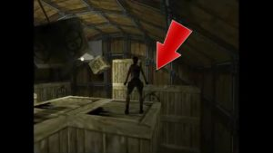 Tomb Raider 2 Level 4 Storage Room Button