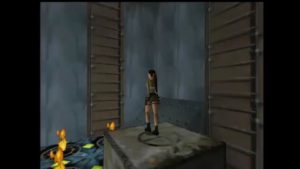 Tomb Raider 2 Level 5 Jumping Over Fire