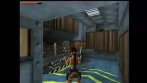 Tomb Raider 2 Level 5 Room with Walkways