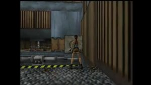 Tomb Raider 2 Level 5 Room with Walkways Block Positioning
