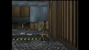 Tomb Raider 2 Level 5 Room with Walkways Block Positioning
