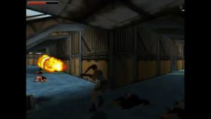 Tomb Raider 2 Level 6 Flame Thrower
