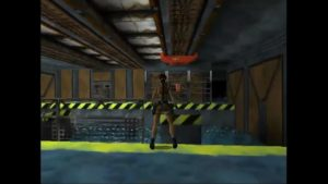 Tomb Raider 2 Level 6 Swinging Hooks