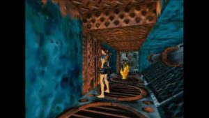 Tomb Raider 2 Level 7 Burner Lever