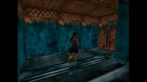 Tomb Raider 2 Level 7 Corridor Lever