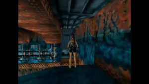 Tomb Raider 2 Level 9 Blue Duct Passage