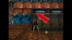 Tomb Raider 2 Level 9 Burner Room