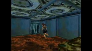 Tomb Raider 2 Level 9 Lobby Movable Block