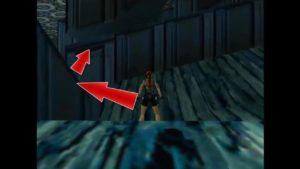 Tomb Raider 2 Level 9 Sloped Floor