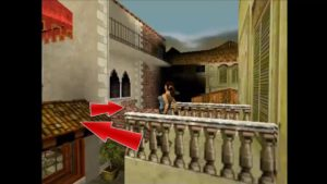 Tomb Raider 2 Level3 Balcony