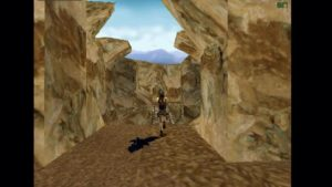 Tomb Raider 2 Level 12 Bridge