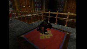 Tomb Raider 2 Level 12 Main Hall Key